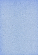 Blank blue sheet of old paper. Empty background with vintage texture.