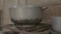 pots cooking