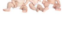 infants in diapers