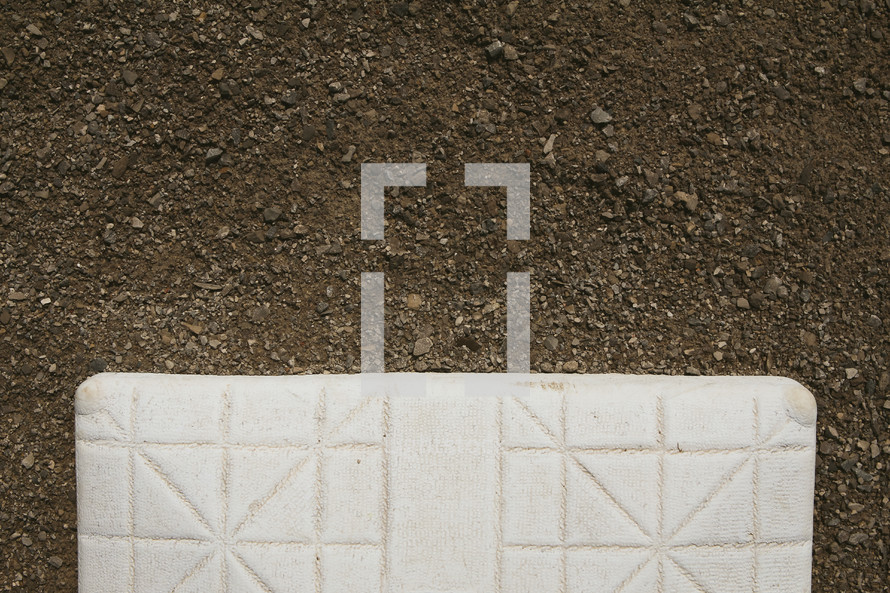 a base on a baseball field