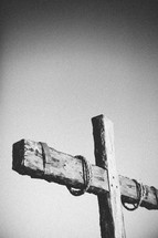 rope on a cross