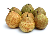 speckled pears