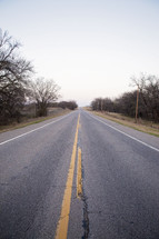 The Wide Open Road - A highway in the country