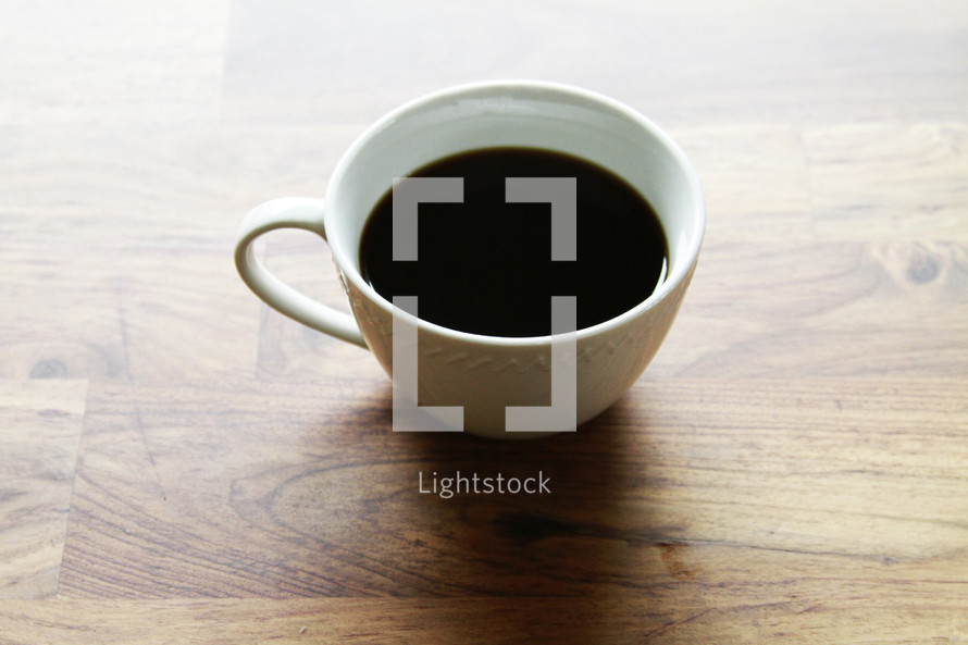 coffee in a cup