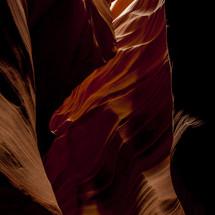 textured red rock cliffs