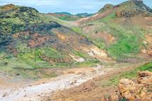 muddy slopes
