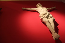 Stature of the crucified Christ