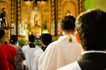Catholic liturgy procession