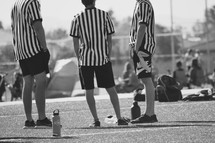 referees on a sports field