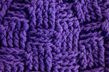 purple knit background