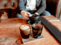coffee and espresso choices