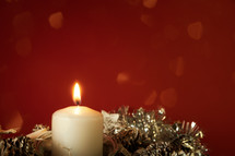 candles at advent