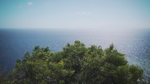 view of the ocean from an island