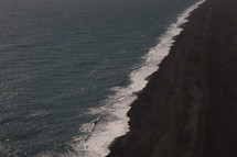 shoreline in Iceland