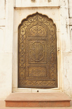 ornate mosque door