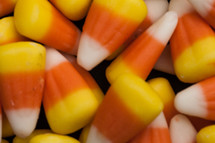 scattered candy corn