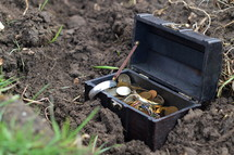 buried treasure - The Parable of the Hidden Treasure in Matthew 13:44