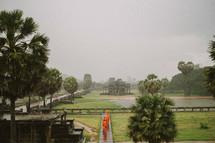 Buddhist monks in Cambodia