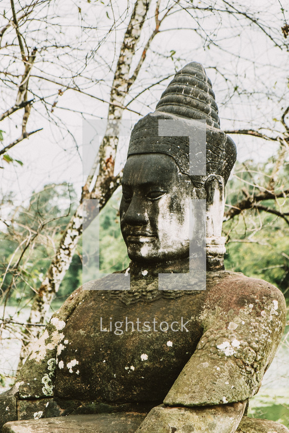 Buddha statue in Cambodia