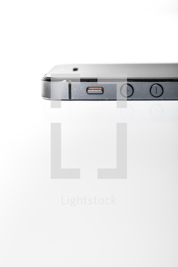 Side of iphone.
