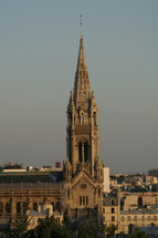 steeple of a Cathedral