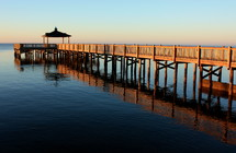Pier on the water.