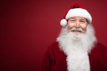 headshot of Santa Claus