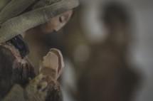 praying Mary figurine
