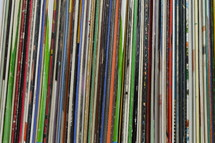 spines of records