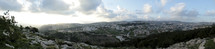 Panoramic lookout in Nazareth Israel