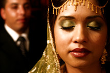 Indian bride - groom