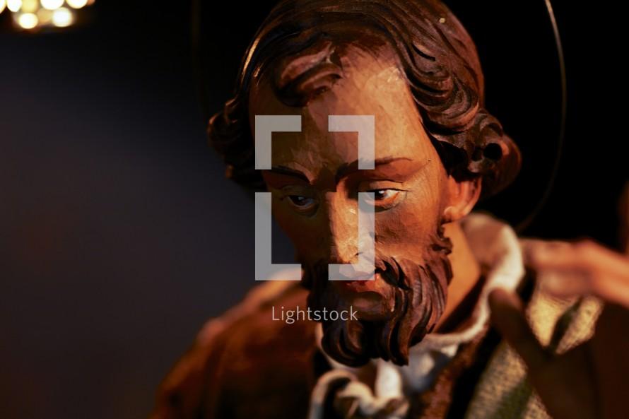 Joseph from a nativity set
