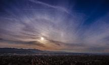 Glendale, California skyline.