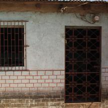 bars on windows and door