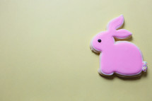 a cute little bunny cookie
