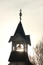 bell in a steeple