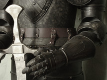 armor of God (ephesians 6,14): the belt of truth buckled around your waist, the breastplate of righteousness in place