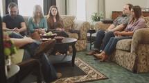 prayer at a Bible study
