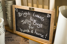 Bright Ideas and Jolly Bugs for house and home