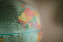 A world globe.