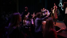 youth in worship