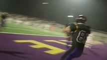 scoring a touchdown
