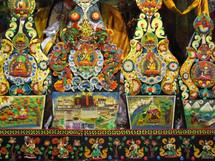 decorative Buddhist paintings