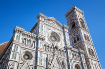 exterior of a Cathedral in Florence