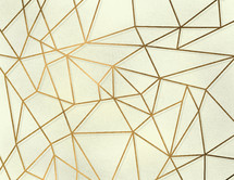 gold geometric background