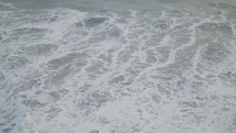 churning sea