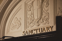 Sanctuary entrance