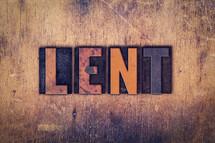 word lent