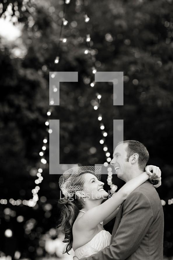 bride and groom dancing wedding reception, joy, love, smile
