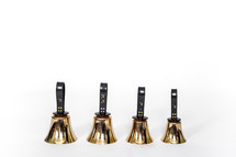 row of handbells